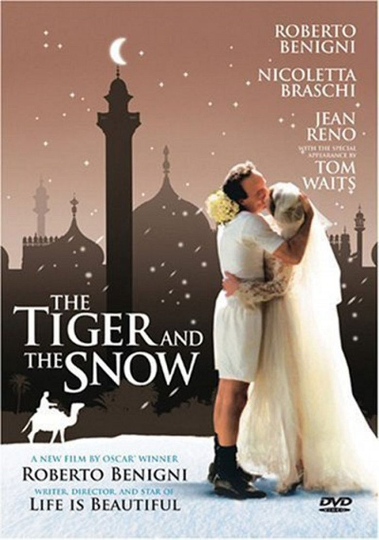 The Tiger and the Snow Poster