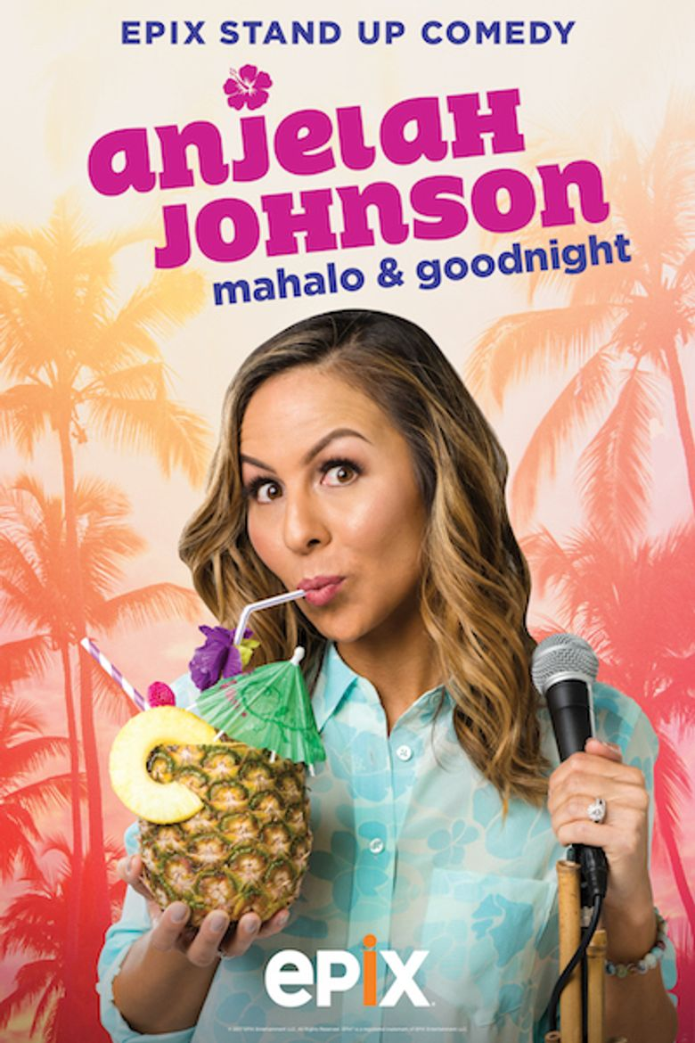 Anjelah Johnson: Mahalo & Goodnight Poster