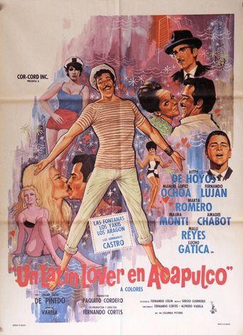 Un Latin lover en Acapulco Poster