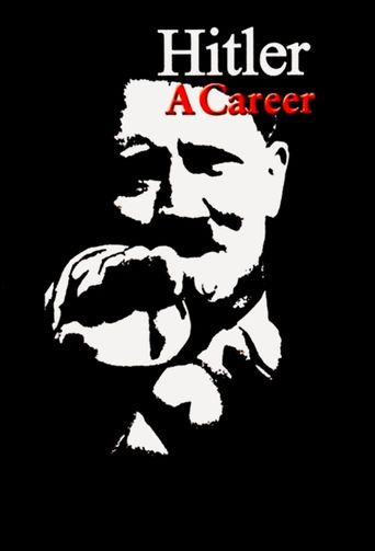 Hitler: A Career Poster