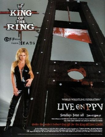 WWE King of the Ring 1998 Poster