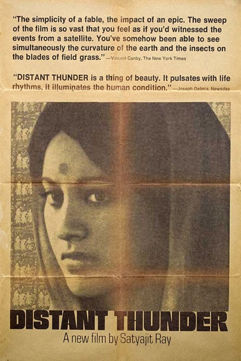 Distant Thunder Poster