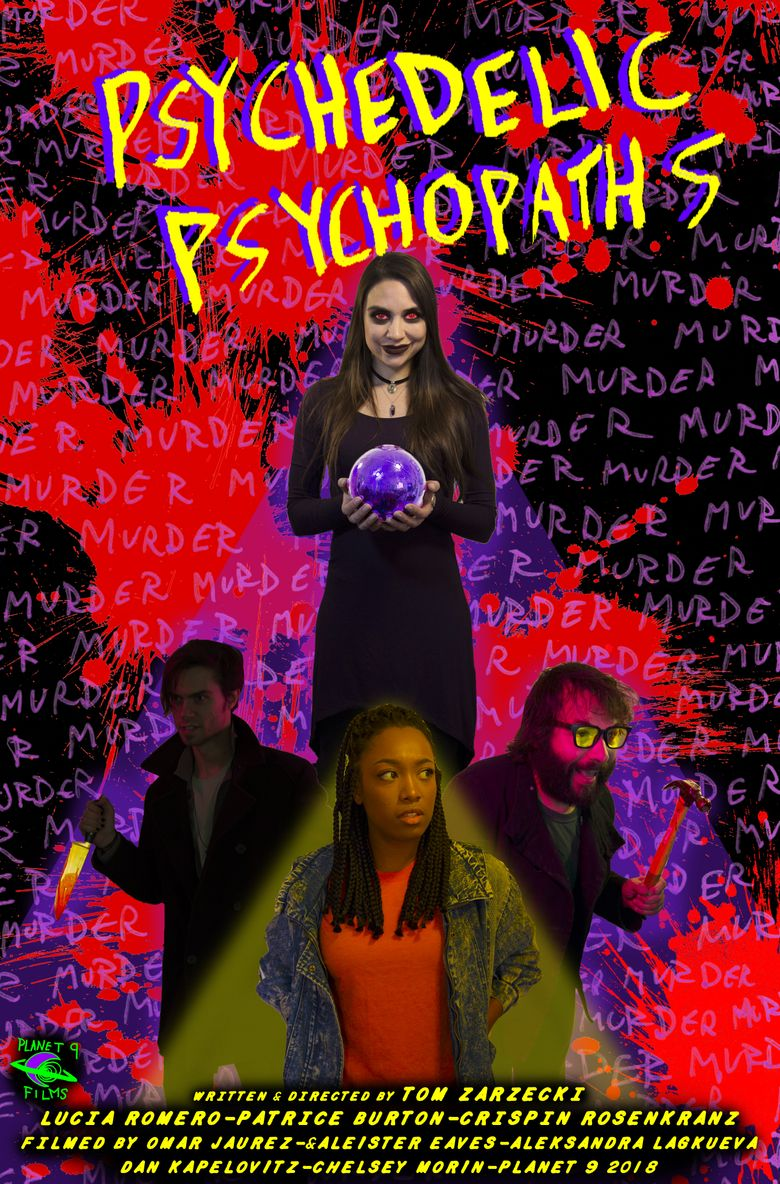 Psychedelic Psychopaths Poster