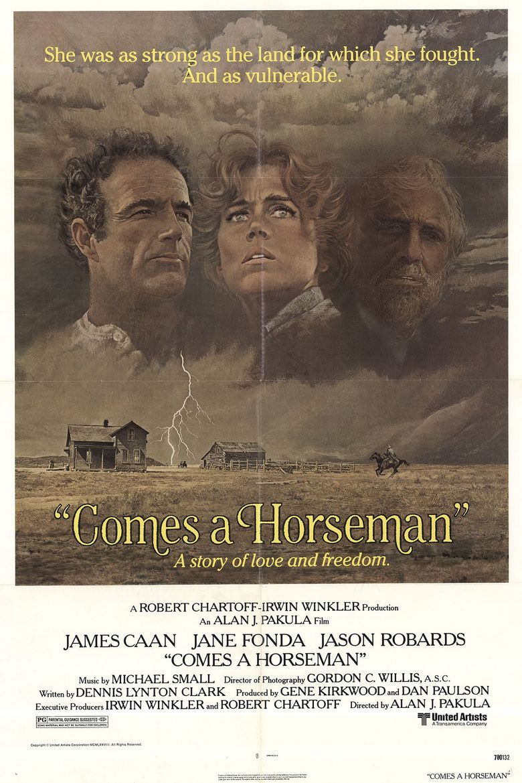 Comes a Horseman Poster
