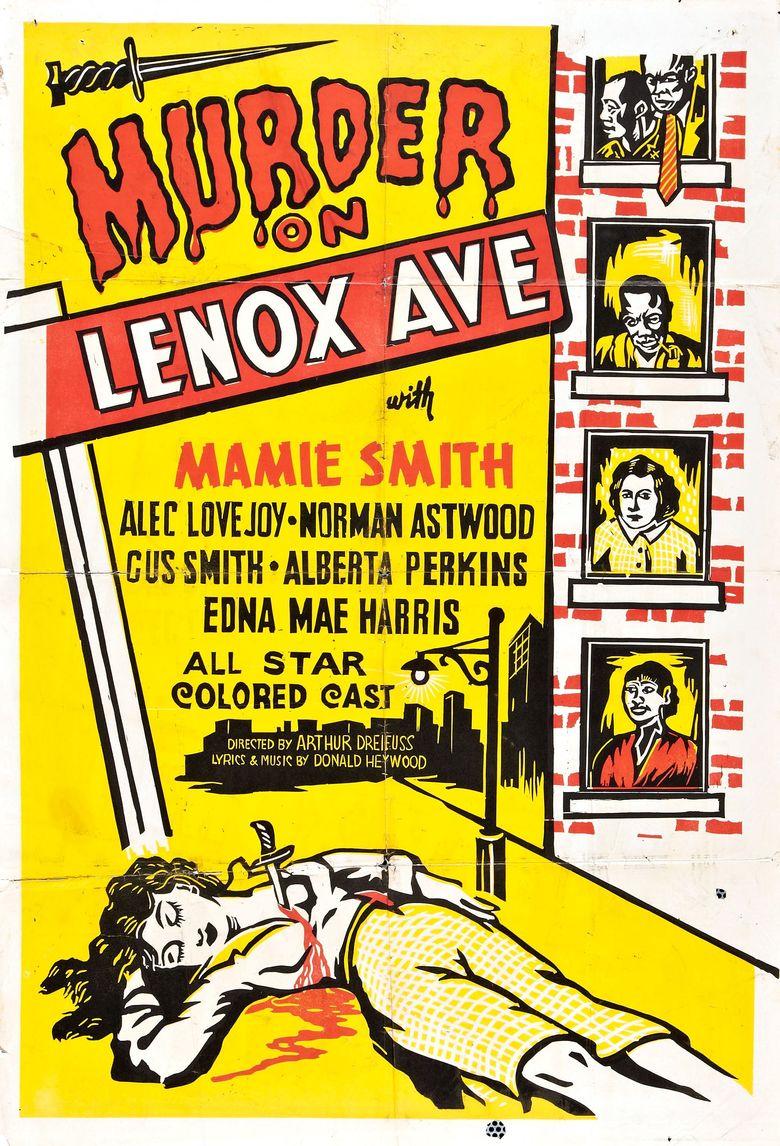 Murder on Lenox Avenue Poster