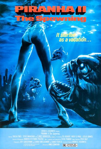 Piranha II: The Spawning Poster
