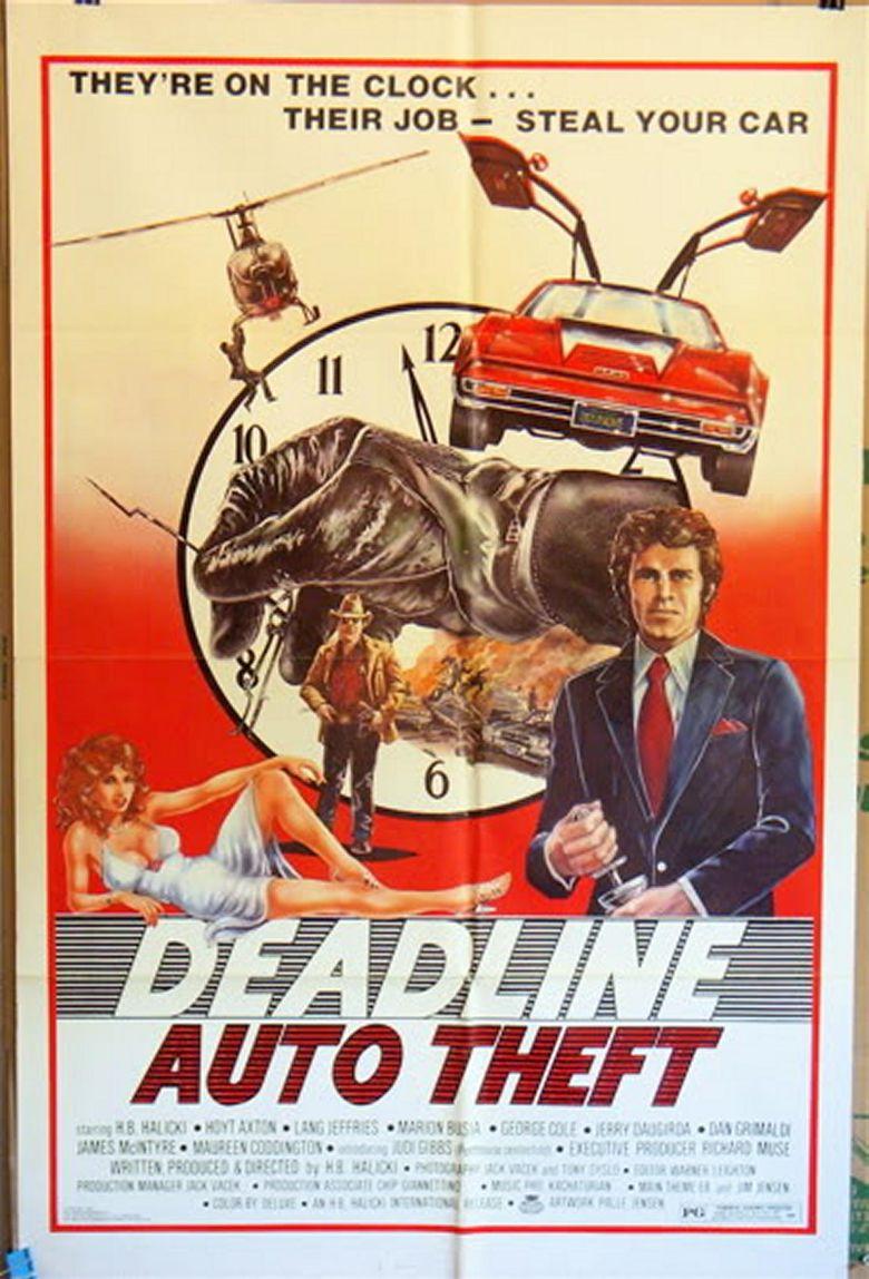 Deadline Auto Theft Poster