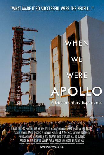 When We Were Apollo Poster