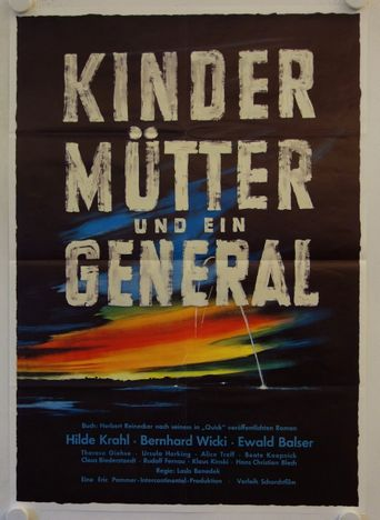 Children, Mother, and the General Poster