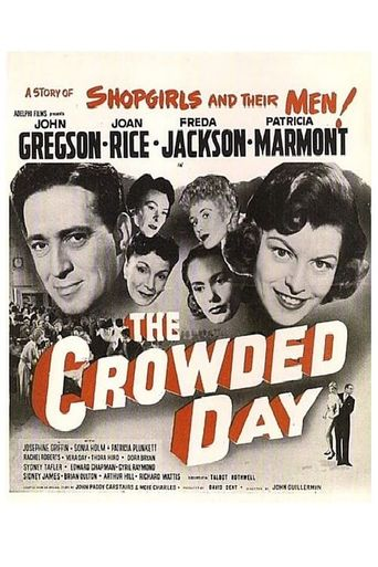 The Crowded Day Poster