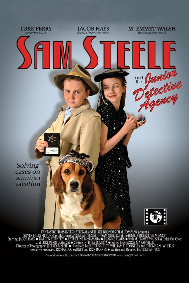 Sam Steele and the Junior Detective Agency Poster
