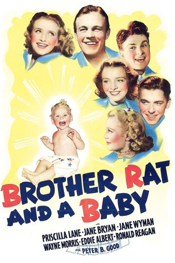 Brother Rat and a Baby Poster