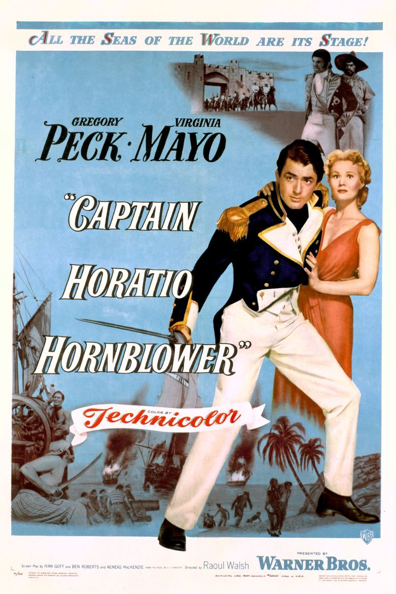Captain Horatio Hornblower R.N. Poster