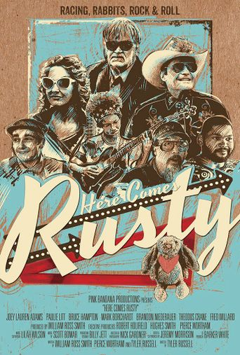 Here Comes Rusty Poster