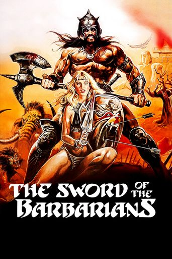 The Sword of the Barbarians Poster
