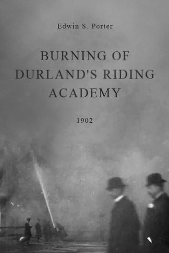 Burning of Durland's Riding Academy Poster