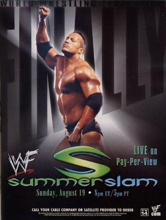 WWE SummerSlam 2001 Poster