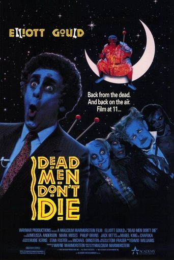 Dead Men Don't Die Poster