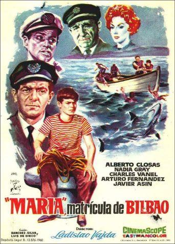 María, matrícula de Bilbao Poster