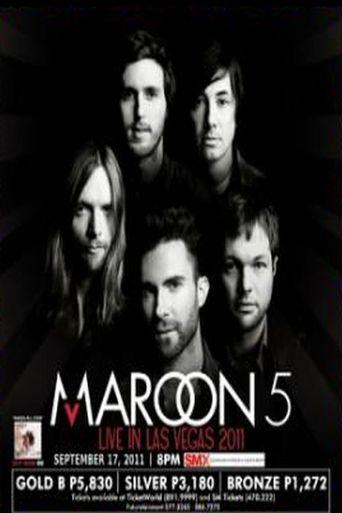 Maroon 5: MTV World Stage Poster