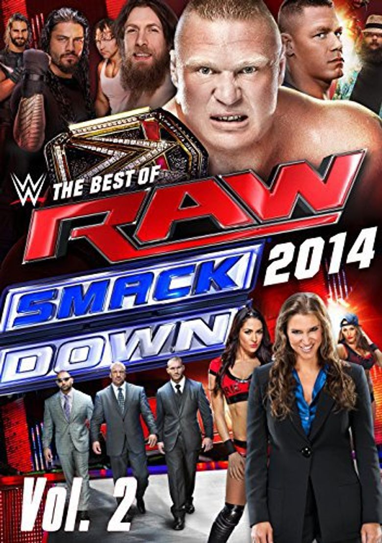 WWE: The Best of RAW and Smackdown (2014): Vol. 2 Poster