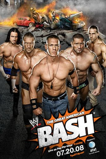 WWE The Great American Bash 2008 Poster