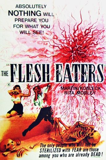 The Flesh Eaters Poster