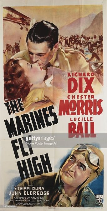 The Marines Fly High Poster