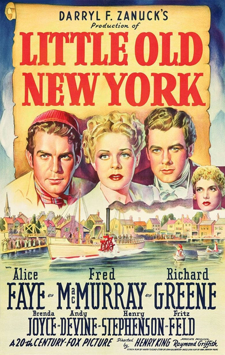 Little Old New York Poster