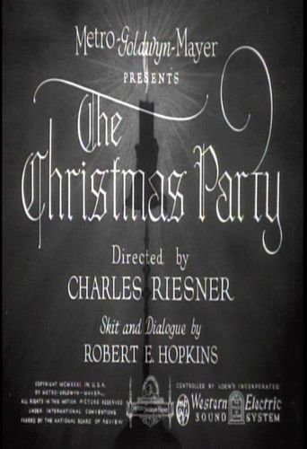 The Christmas Party Poster