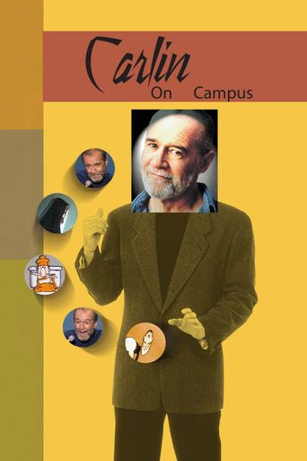 George Carlin: Carlin on Campus Poster