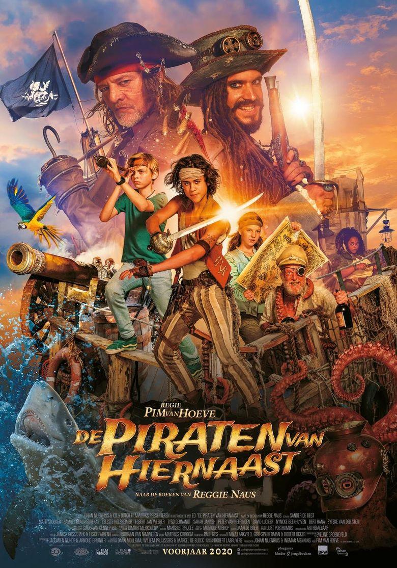 De Piraten van Hiernaast Poster