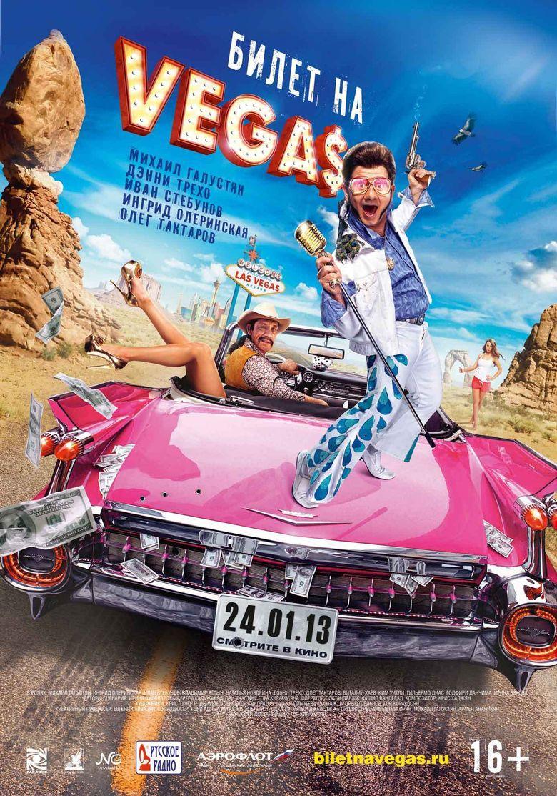 Ticket to Vegas Poster