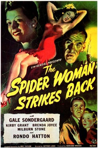 The Spider Woman Strikes Back Poster