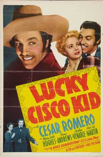 Lucky Cisco Kid Poster