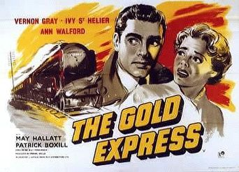 The Gold Express Poster