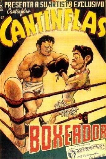 Cantinflas boxeador Poster