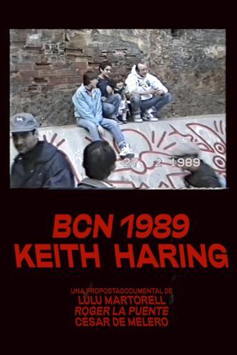 Keith Haring 1989 Barcelona Poster