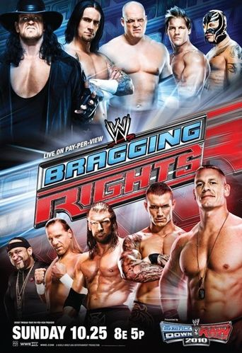 WWE Bragging Rights 2009 Poster
