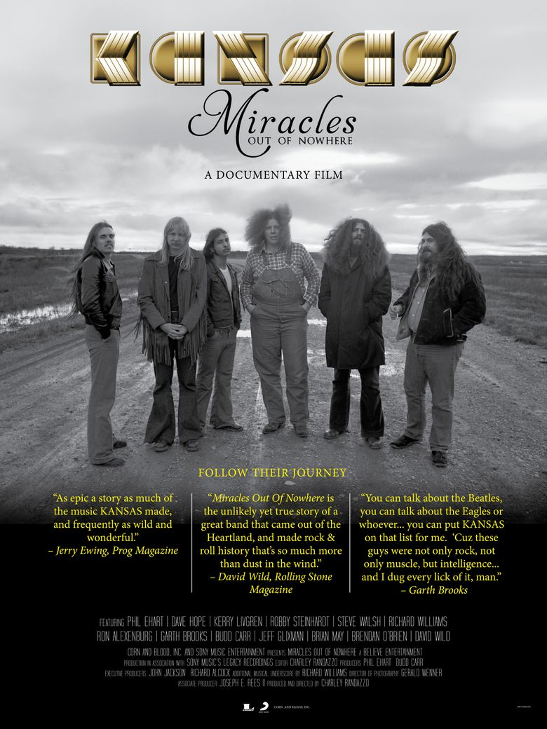 Watch Kansas: Miracles Out Of Nowhere
