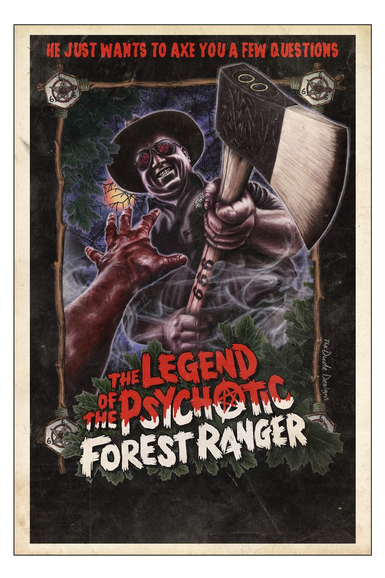 Watch The Legend of the Psychotic Forest Ranger