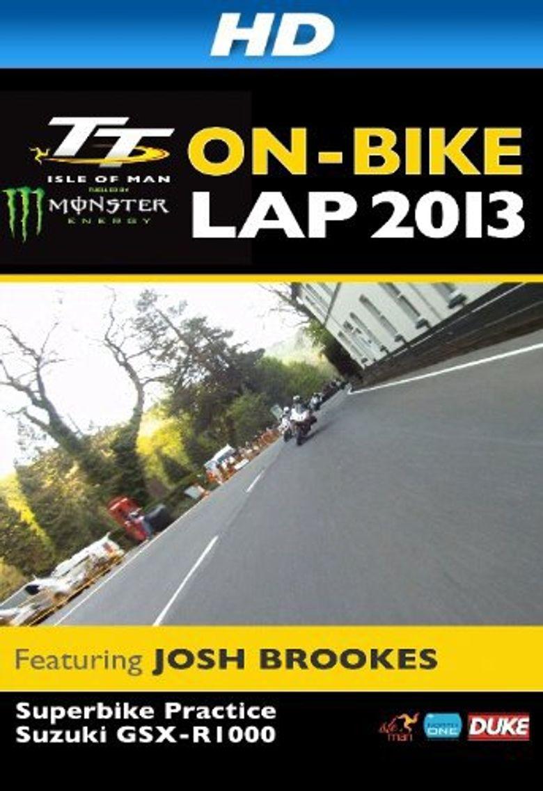 Tt 2013 on Bike: Josh Brookes Poster