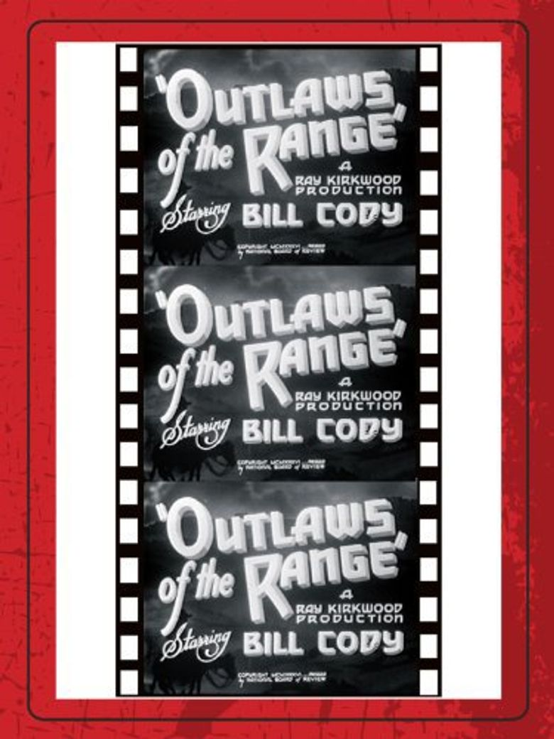 Outlaws of the Range Poster