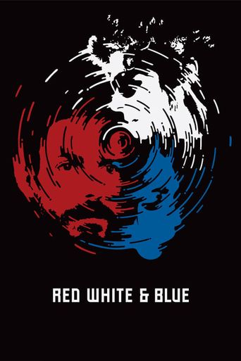 Red White & Blue Poster