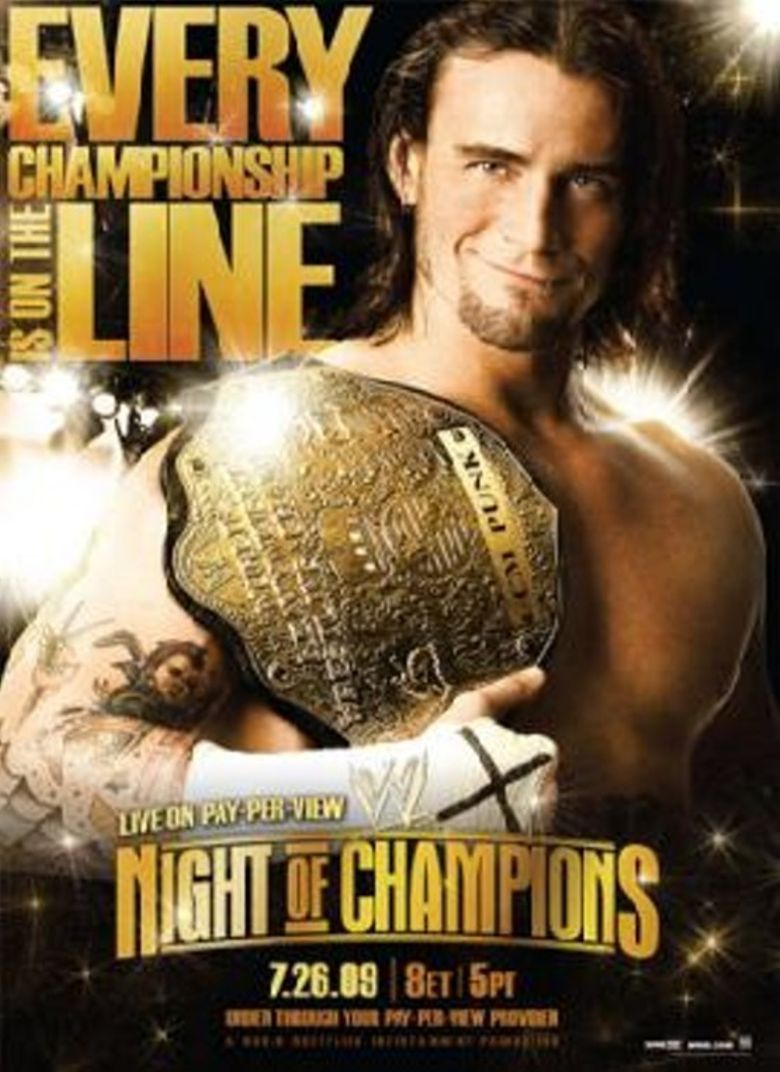 WWE Night of Champions 2009 Poster