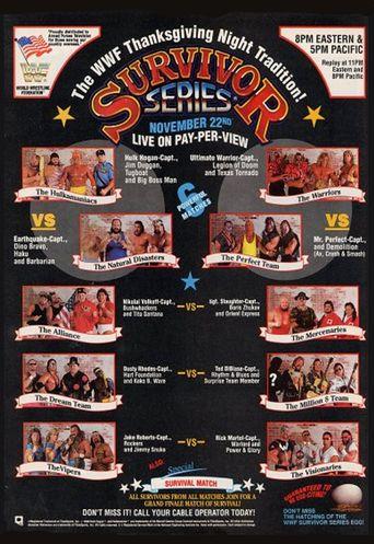 WWE Survivor Series 1990 Poster