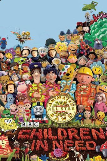Peter Kay's Animated All Star Band: The Official BBC Children in Need Medley Poster
