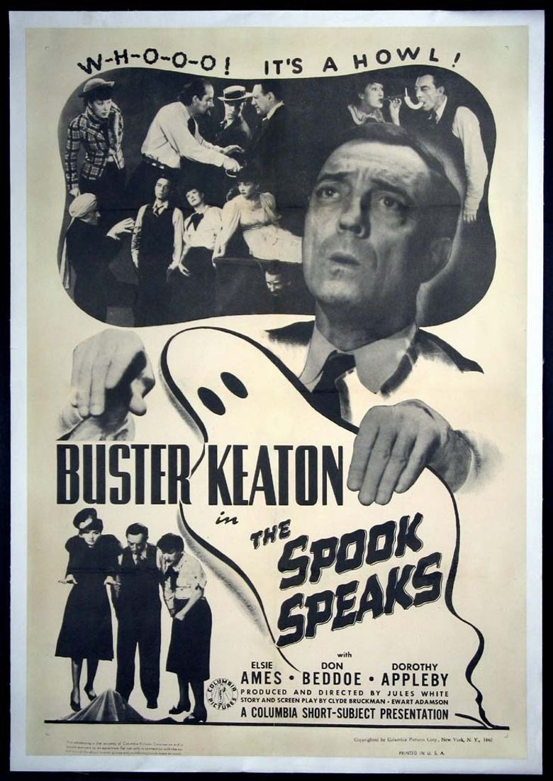 The Spook Speaks Poster