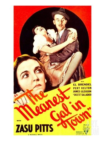 The Meanest Gal in Town Poster