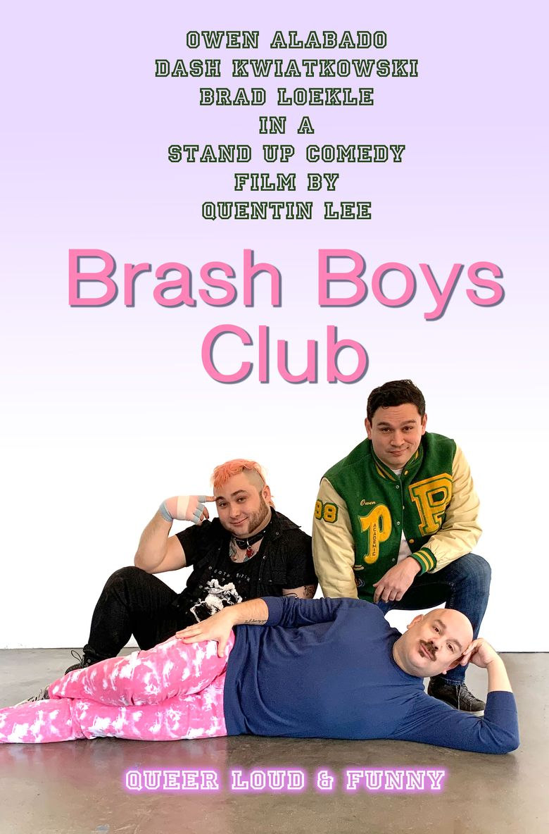 Brash Boys Club Poster